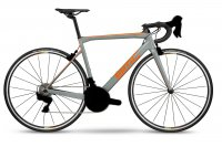 Велосипед шоссейный BMC TEAMMACHINE SLR02 ONE GREY/ORANGE/BLACK ULTEGRA 2018