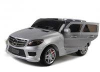 Радиоуправляемый детcкий электромобиль Dongma-DMD Merсedes-Bens ML63 AMG Silver 12V