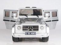 Радиоуправляемый детcкий электромобиль Dongma-DMD Mercedes Benz G55 Silver 12V 2.4G