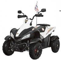 Детский спортивный электроквадроцикл Dongma-DMD Dongma ATV White 12V - DMD-268A-W