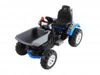 Детский электромобиль Jiajia трактор на аккумуляторе 12V blue