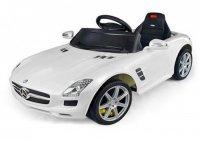 Радиоуправляемый электромобиль Rastar Mercedes-Benz SLS AMG White