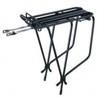 Велобагажник  TOPEAK Super Tourist Tubular Rack, Aluminum Tubular, W/Spring, черный
