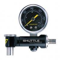 Аналоговый датчик давления (манометр) TOPEAK Shuttle Gauge, 300 PSI/20.7 BAR, с боксом