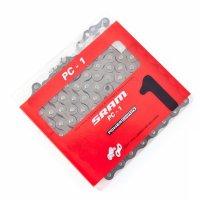 Цепь односкоростная SRAM PC-1 Silver SnapLock
