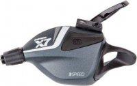 Манетка велосипедная SRAM Front Sram X.7 Trigger, 3 скорости, Storm, серый
