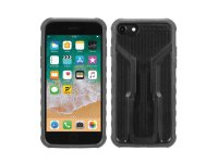 Чехол для смартфона TOPEAK RIDECASE ONLY, WORK WITH iPHONE X, BLACK/GRAY