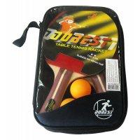 Набор DOBEST BB01 2 звезды (2 ракетки + 3 мяча)