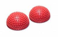 Полусфера Original Fit.Tools массажно-балансировочная (набор 2 шт) красный