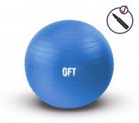 Гимнастический мяч Original Fit.Tools 75 см синий