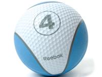 Мяч тренировочный Reebok 4 кг, синий