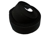 Оплётка на руль VELO vlt-001g-01 200х3см, гель, чёрная, с заглушками vlp-49