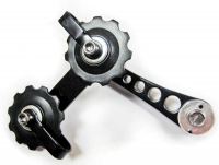 Натяжитель цепи SSP-12-1 (на петух вместо переключателя скоростей для singlspeed ) MR.CONTROL на двух роликах, чёрный