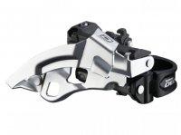 Велосипедный переключатель скоростей SHIMANO передний fd-m610 deore для 10 скоростей, универсальный нижний хомут, универсальная тяга, на 42т, 66*-69*, без уп.
