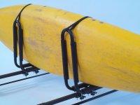 Крепление на крышу автомобиля  Peruzzo Kayak, 1 каяк / доска для сёрфинга