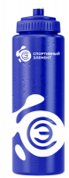 Спортивная бутылка Азурит / Кунцит Спортивный элемент S12-1000, синий