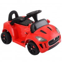 Детский электромобиль-каталка Dongma Jaguar F-Type Convertible Red 6V 2.4G - DMD-238-R