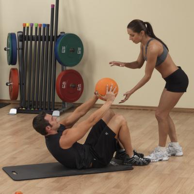 Тренировочный мяч Body Solid 4,5 кг (10lb)