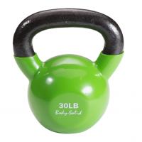 Гиря Body Solid 13,6 кг (30lb) обрезиненная зеленая