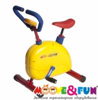 Детский велотренажер Moove&Fun с компьютером