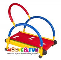 Тренажер детский механический Moove&Fun беговая дорожка