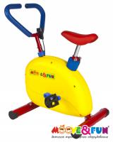 """Тренажер детский механический Moove&Fun """"велотренажер"""""""