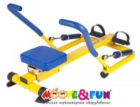 Детский гребной тренажер Moove&Fun с двумя рукоятками