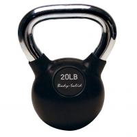 Гиря Body Solid 9,1 кг (20lb) с хромированной ручкой