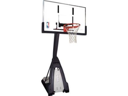 """Баскетбольная стойка мобильная, стекло Spalding NBA THE BEAST PORTABLE 60"""""""