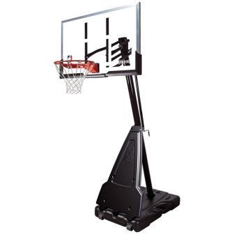 """Баскетбольная стойка мобильная Spalding Portable - 54"""" Acrylic"""