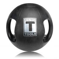 Тренировочный мяч с хватами Body Solid 4,5 кг (10lb)
