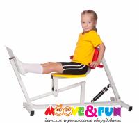Детский тренажер Moove&Fun Жим ногами
