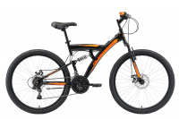 Велосипед Black One Flash FS 26 D (2021)