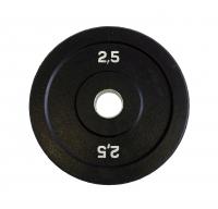 Диск бамперный Original Fit.Tools 2,5 кг (черный)