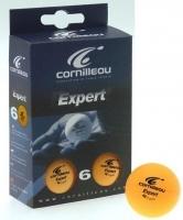Мячи Cornilleau Expert 6 шт 40 мм (оранжевый)