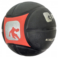 Баскетбольный мяч AND1 Outlaw (black/red)