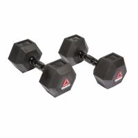 Гантели гексагональные Reebok 2х10 кг