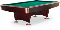 """Бильярдный стол для пула Weekend Billiard Company """"Reno"""" 8 ф (махагон)"""
