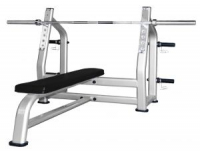 Горизонтальная скамья для жима Optima Fitness M-23