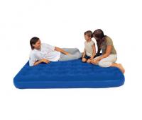 Кровать флокированная Bestway 188х99х23см синяя