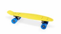 "Скейт пластиковый 22х6"" Moove&Fun желтый"
