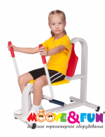 Детский тренажер Moove&Fun Жим от груди