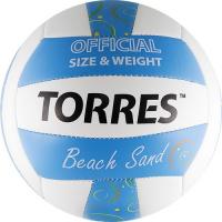 Мяч TORRES Beach Sand Blue