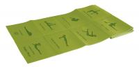 Коврик для йоги складной Lite weights 173*61*0,5см 5455LW, салатовый