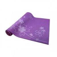 Коврик для йоги и фитнеса 173*61*0,4см BB8300 с принтом, фиолетовый