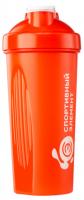 Спортивный шейкер Гранат S01-600 Спортивный элемент оранжевый