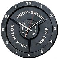 Часы настенные Body Solid в виде олимпийского диска
