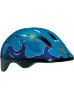 Шлем детский BELLELLI Сине-голубой с дельфинами, М (52-57cm)