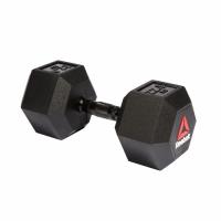 Гантели гексагональные Reebok 2х22,5 кг