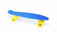 """Скейт пластиковый 22х6"""" Moove&Fun темно-синий"""